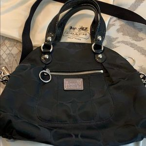 Black Coach Poppy bag